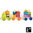 Fantasia Blocks Train - Wooden Toy