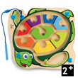 Colorback Sea Turtle Magnetic Maze - Wooden Game Hape Toys