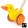 Duck - Wooden Push Toy