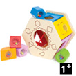 Shake and Match Shape Sorter - Wooden Toy
