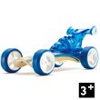 Bamboo Model Car Mighty Mini Dragster (blue) Hape Toys