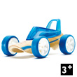 Bamboo Model Car Mighty Mini Roadster (blue)