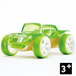 Bamboo Model Car Mighty Mini Beach Buggy (green) Hape Toys