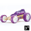 Bamboo Model Car Mighty Mini Hot Rod (purple) Hape Toys