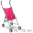 Cherry Umbrella Stroller for baby doll 36/42/52cm Corolle