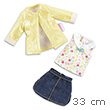 Riviera Skirt Set - Outfit for Les Chéries 33cm Dolls Corolle