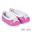 Pink Ballerinas for 36cm Doll Corolle
