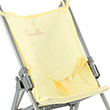Assise de Poussette canne Citron