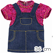 Grenadine Denim Dress for Ma Corolle 36cm Doll