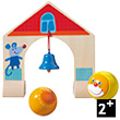 Arch with bell - Complementary set for Ball Track Rollerby Haba
