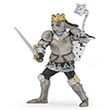 King with mace in armour - Toy Figurine