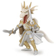Homme dragon Blanc - Figurine fantastique Papo