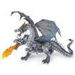 Two-headed Dragon Silver - Fantasy Figurine