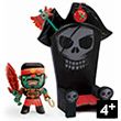 Kyle & the throne - Arty Toys pirates Djeco