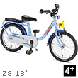 Puky Z8 Children's Bike (18 inch) - Blue Puky