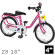 Puky Z8 Children's Bike (18 inch) - Pink Puky