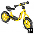 Yellow Kids learner bike LRM - Learning Bike Puky