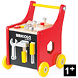 Redmaster Magnetic DIY Trolley - Wooden Toy Janod