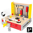 Redmaster DIY Foldable Workbench - Wooden Toy Janod