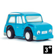 Whizzy Pull-Back Car - Blue Le Toy Van