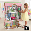 Sweet Savannah Wooden Dollhouse (with furniture) KidKraft