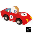 Red Speed - Wooden Model Car - Story Racing Janod