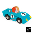 Blue Speed - Wooden Model Car - Story Racing Janod