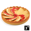 Apple Pie - Pan and contents - Role Play Game Djeco