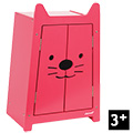 Babycat Doll Wardrobe - Wooden Toy