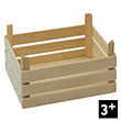 Set of 3 wooden crates Goki