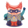 Mister Super - Mini Night Light Little Big Room by Djeco