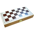 Foldable Chess Game with wooden pieces