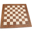 Inlaid Chessboard walnut/sycamore 40mm Squares Chavet Chess