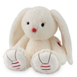 Medium Lapin Ivoire - Lapinou Kaloo Rouge Kaloo