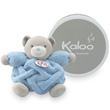 Small musical Chubby rabbit - blue - Kaloo Plume Kaloo