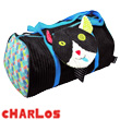 Charlos Cat Travel Bag - Déglingos