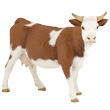 Simmental Cow - Toy Figurine