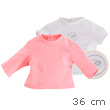 T-Shirt Set for Ma Corolle Doll 36cm Corolle