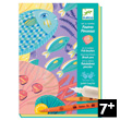 Felt brushes - Art by numbers - Under the sea Djeco