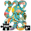 Puzz'Art Octopus - Puzzle 350 pieces Djeco
