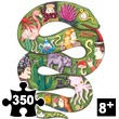 Puzz'Art Boa - Puzzle 350 pieces Djeco