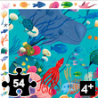 Aquatic - Observation Puzzle 54 pieces Djeco
