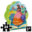 Sleeping Beauty - Silhouette Puzzle 36 pieces