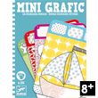 Mini Grafic game Doodle Colouring Pictures Djeco