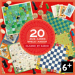 Classic Box - 20 Classic Games in a box Djeco