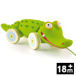 Croc'n'roll Pull-along Toy Djeco