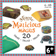 Malicious Magus - 20 Magic Tricks Set - Ages 6-10 Djeco