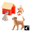 The Dogs - Accessories for dollhouses Djeco