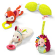 Louise set of hanging rattles Lilliputiens