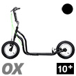 OX II Fun Scooter for teens/adults - BLACK Yedoo